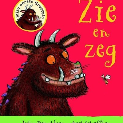 Lemniscaat My first Gruffalo: See and say