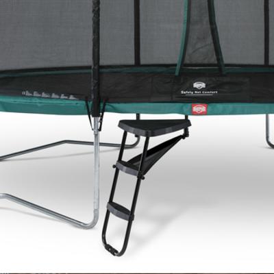 Berg trampolines Ladder platfom + trapje Large
