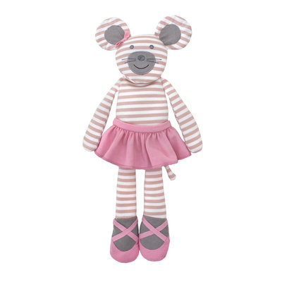 Organic Farm Buddies Cuddly toy 'Ballerina Mouse'