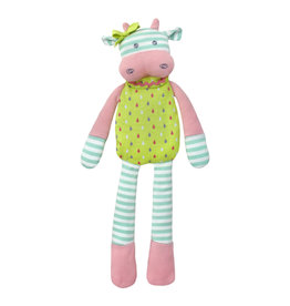 Organic Farm Buddies Cuddly toy 'Belle Cow'