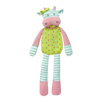 Organic Farm Buddies Cuddly toy 'Belle Cow'