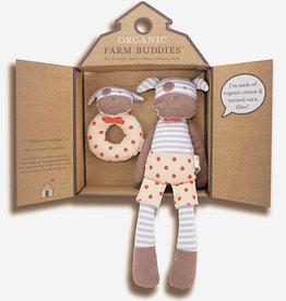Organic Farm Buddies Gift set 'Boxer Dog'