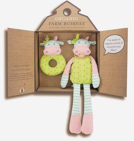 Organic Farm Buddies Gift set 'Belle Cow'