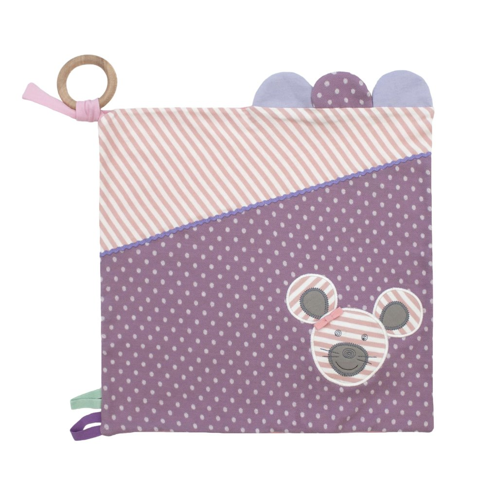 Organic Farm Buddies Organic Farm Buddies Ballerina Mouse play blanket
