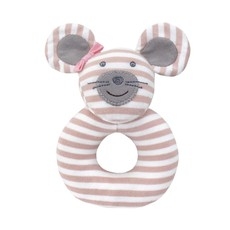 Organic Farm Buddies Organic Farm Buddies Ballerina Mouse rattle ring