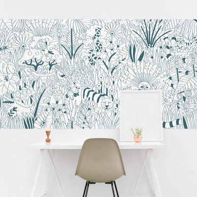 OMY Giant coloring poster Tropical