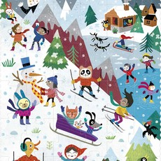 Londji Let's go get to the mountain!-puzzel
