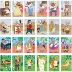 Londji Animal Big Band Families Card Game