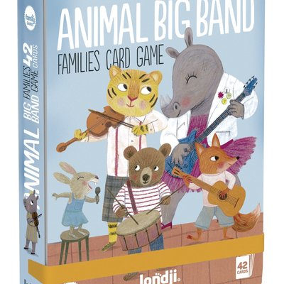 Londji Animal Big Band Families Card Game