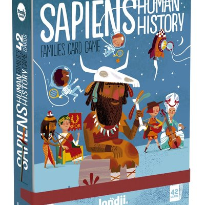 Londji Sapiens Human History Families Card Game