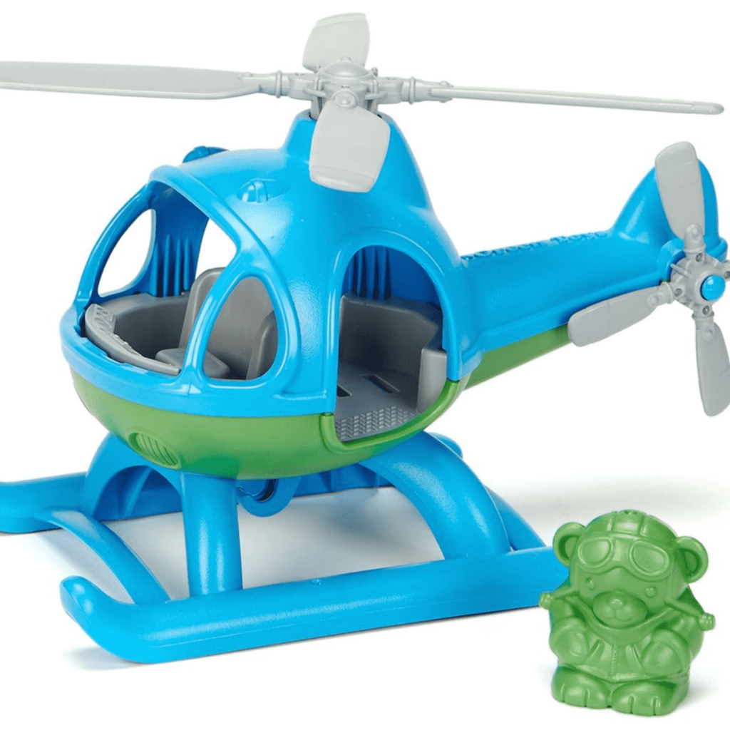 Green Toys Green Toys helicopter blauw