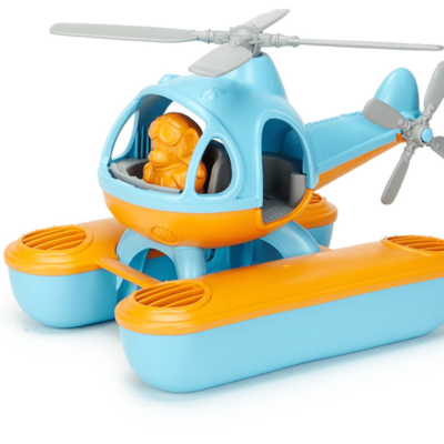 Green Toys Waterhelicopter blauw