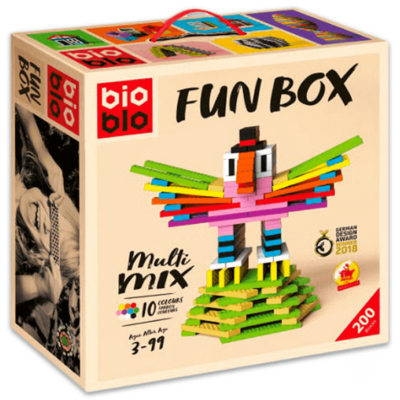 BioBlo Fun Box 200 blocs de construction