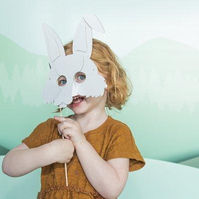 Mister Tody Masque de lapin en carton