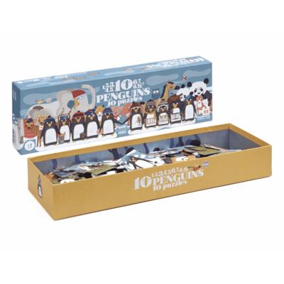 Londji 10 pinguïnspuzzel