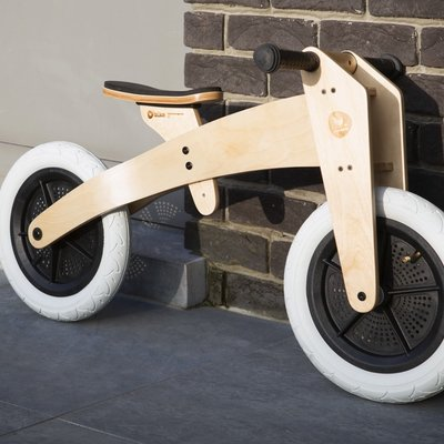 Wishbone Loopfiets in hout