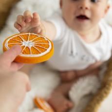 Oli & Carol Bijtspeeltje sinaasappel