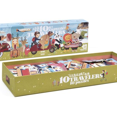 Londji Puzzle 10 voyageurs