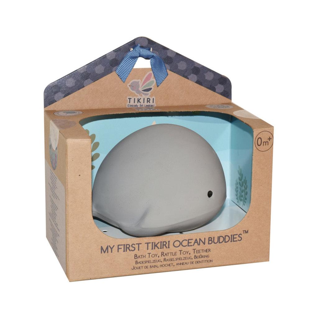 Tikiri Animal en caoutchouc baleine