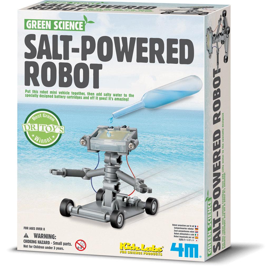 Robot op zoutwater