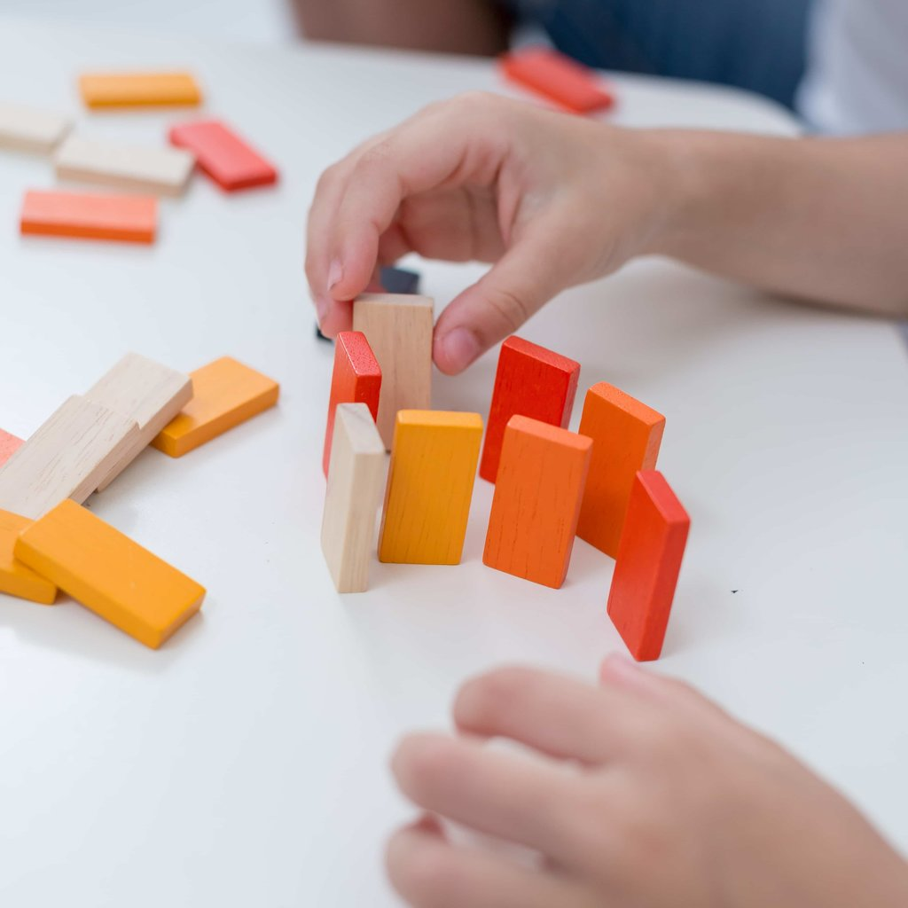 Plan Toys Mini domino race