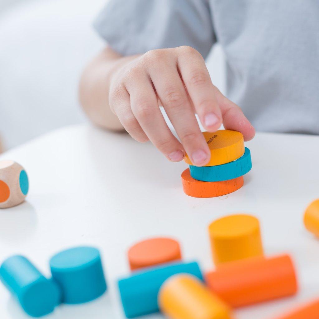 Plan Toys Plan Toys Mini stapelspel