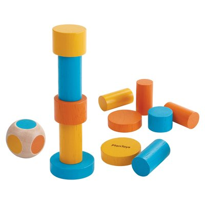 Plan Toys Mini stacking game