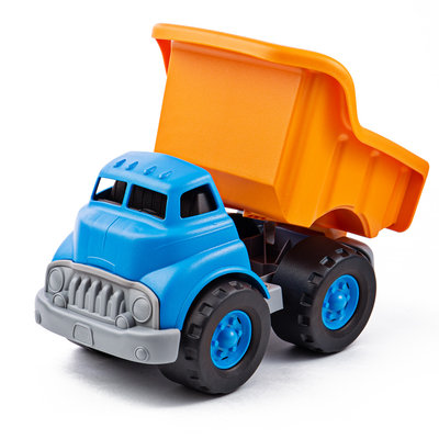 Green Toys Dump truck orange/blue