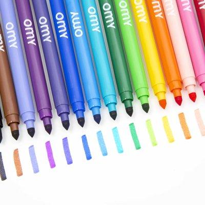OMY Ultra washable felt pens