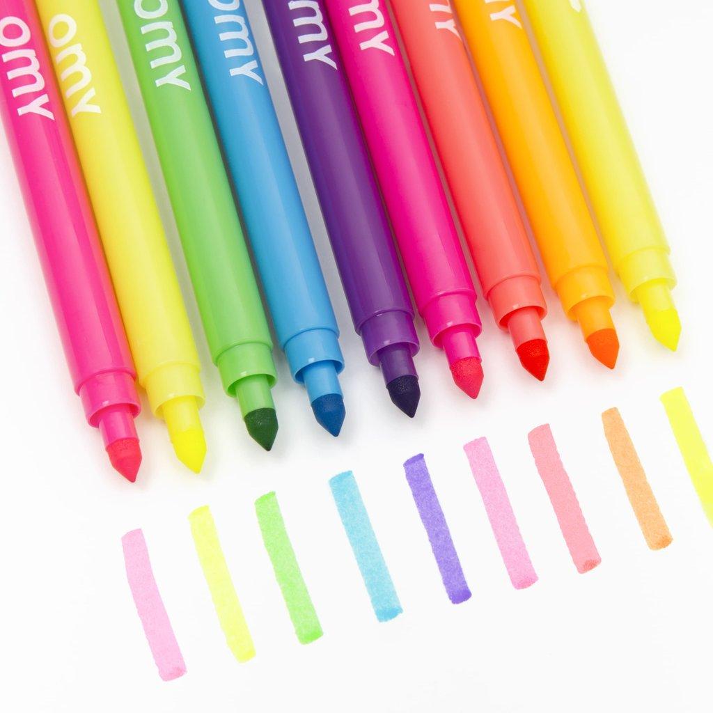 OMY Kleurstiften fluo