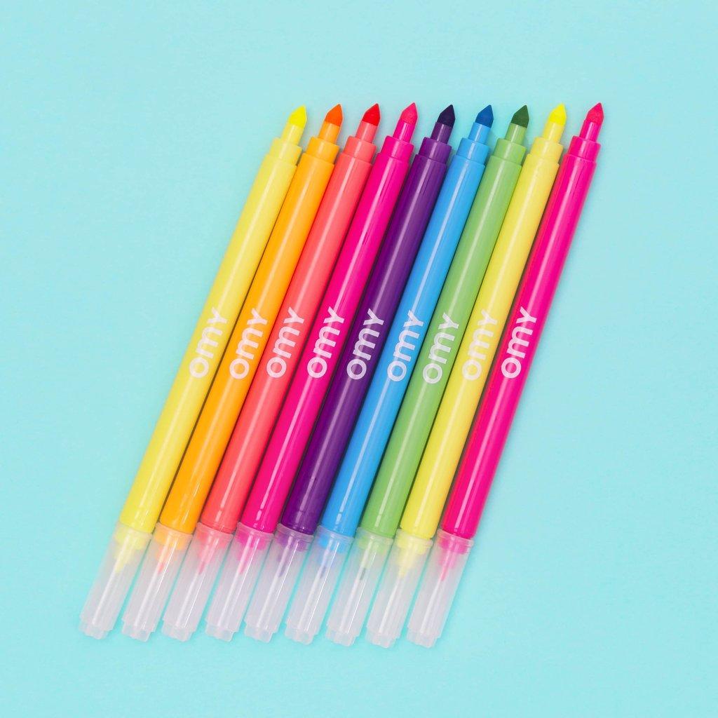 OMY Neon Flet Pens