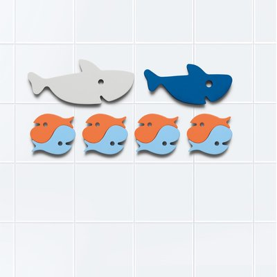 Quut Shark bath puzzle