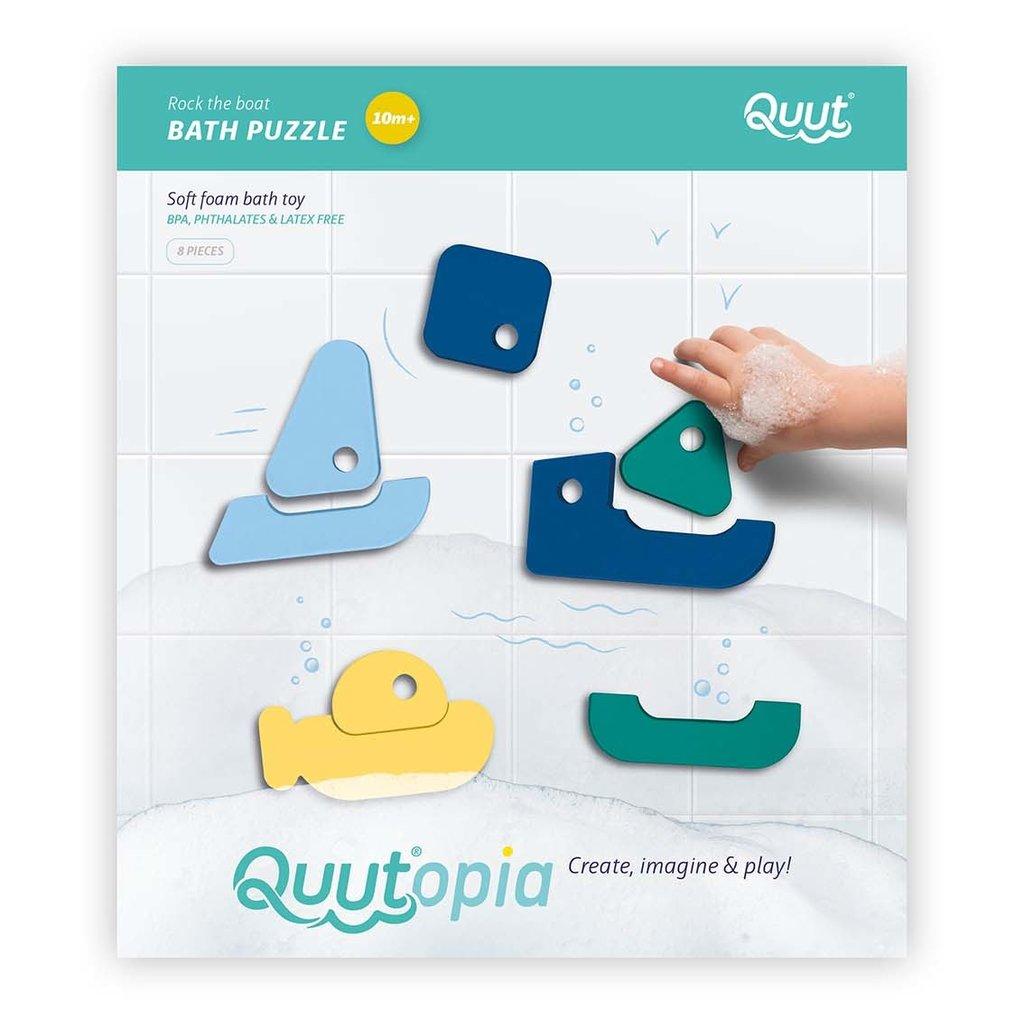 Quut Sail away bath puzzle