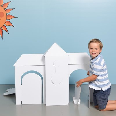 Mister Tody Tik Tak Colour-In Playhouse Large
