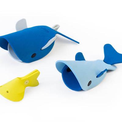 Quut Deep sea whales bath toys