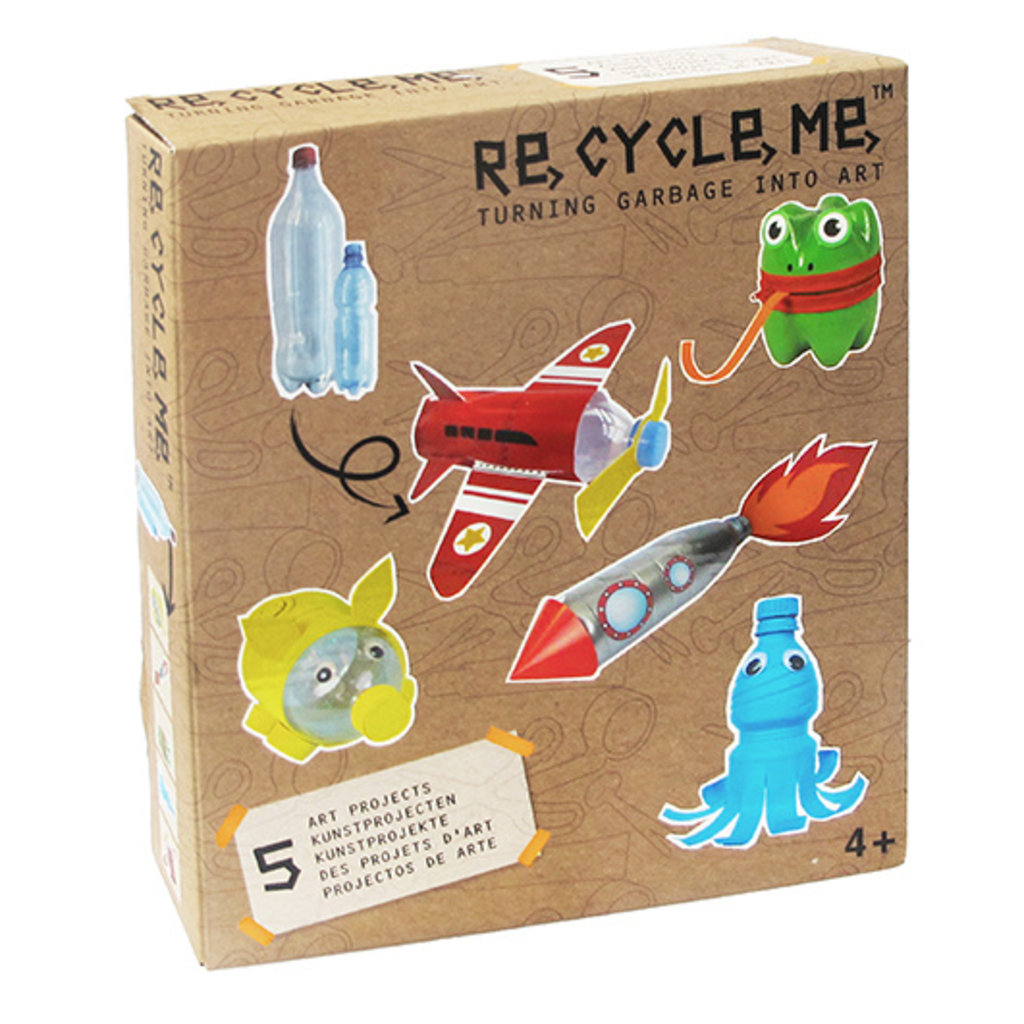 Re-Cycle-Me Craft Kit with PET Bottles - Cool