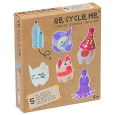 Re-Cycle-Me Knutselpakket met PET-flessen dieren