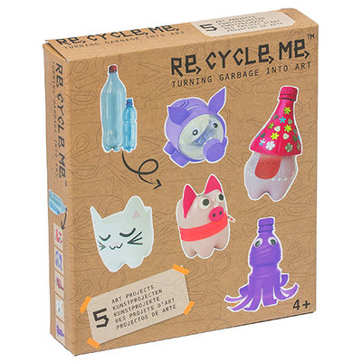Re-Cycle-Me Craft Kit with PET Bottles - Animals