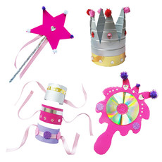 Re-Cycle-Me Crafting Package Princess Dress-up