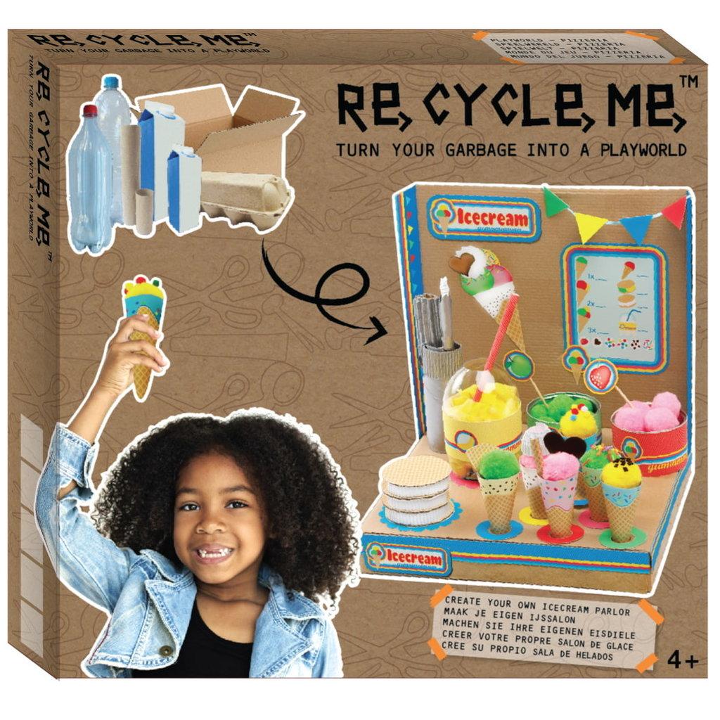 Re-Cycle-Me Knutselpakket ijssalon