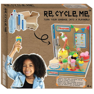 Re-Cycle-Me Knutselpakket ijssalon