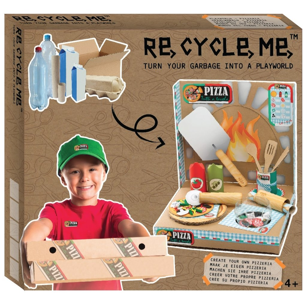 Re-Cycle-Me Crafting Package Pizzeria