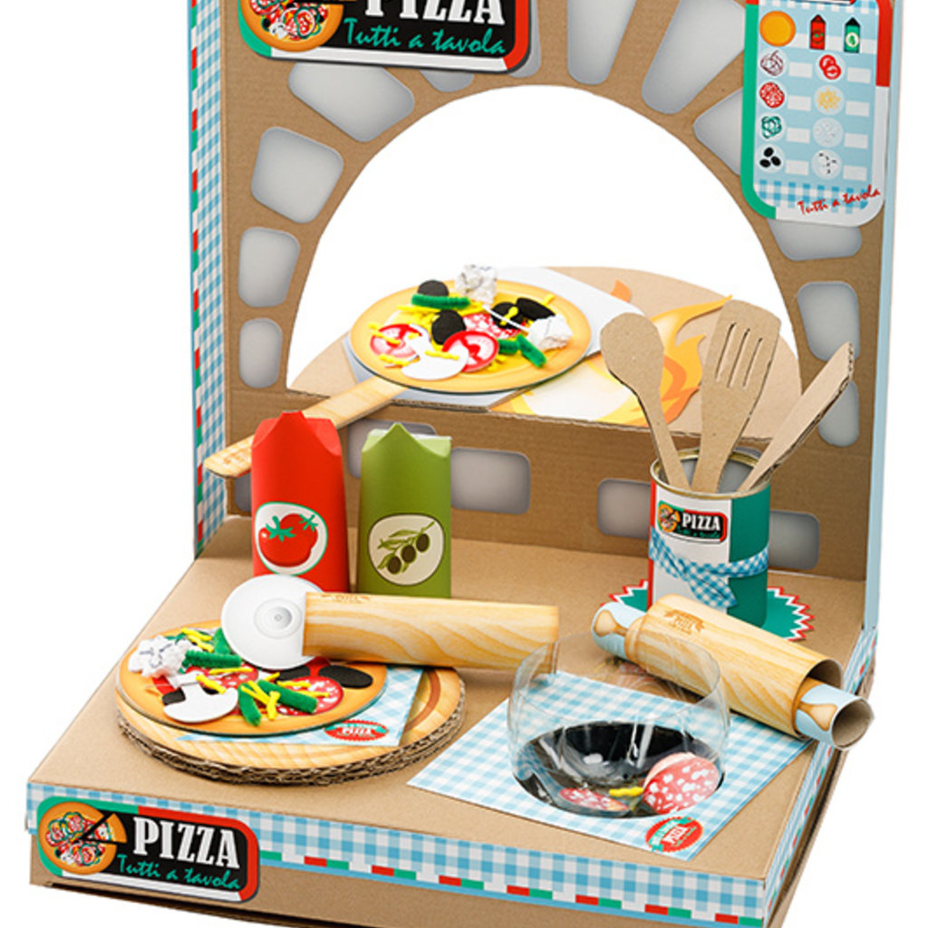Re-Cycle-Me Knutselpakket pizzeria