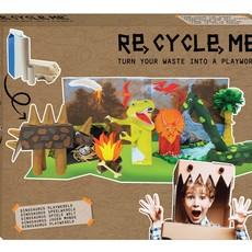 Re-Cycle-Me Knutselpakket XL dinosaurussen