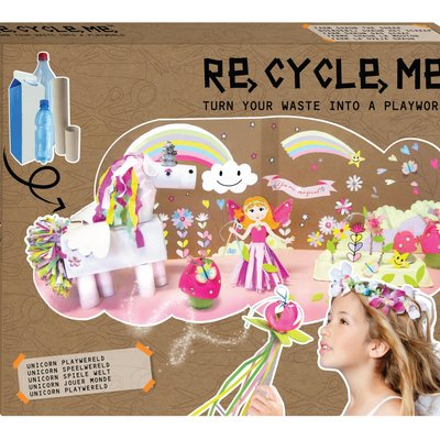 Re-Cycle-Me Knutselpakket XL unicorn