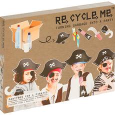 Re-Cycle-Me Knutselpakket piraten partybox