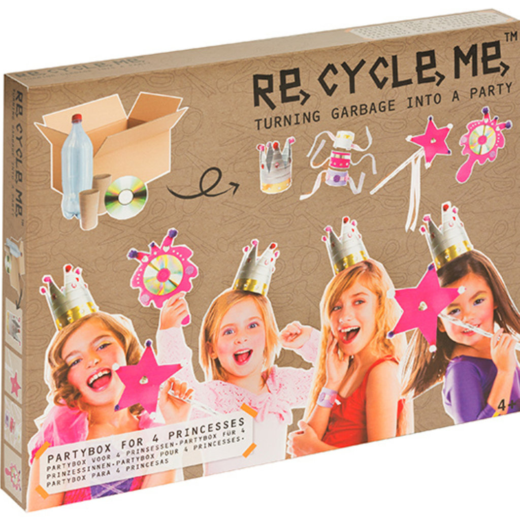 Re-Cycle-Me Crafting Package Princesses Party