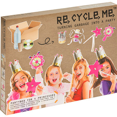 Re-Cycle-Me Knutselpakket prinsessen partybox