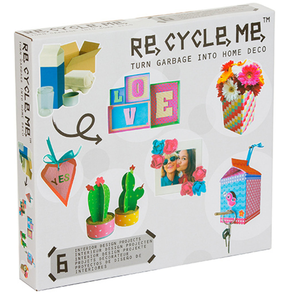 Re-Cycle-Me Home decoration box 1
