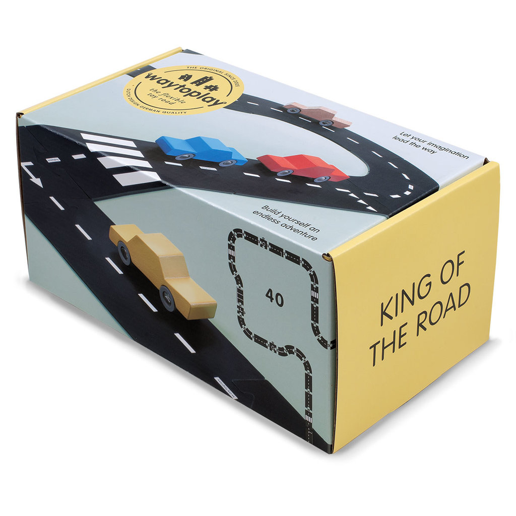 Waytoplay King of The Road Toy Road Set